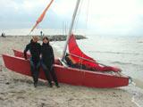 Katamaran Segeltörn auf der Ostsee als Geschenk