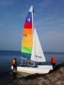 Katamaran segeln Berlin Hamburg Rostock auf der Ostsee