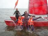 Katamaran segeln macht Spass