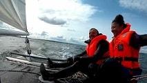 Katamaran segeln macht gluecklich