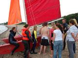 Unsere Katamaran Segelschule an der Ostsee