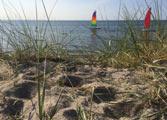 Unsere Katamarane auf der Ostsee am Timmendorfer Strand