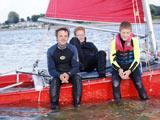 Geflasht zurück vom Katamaran segeln auf der Ostsee