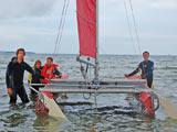 Gut vorbereitet für das Katamaran segeln