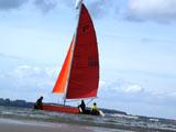 Jetzt geht es los zum Katamaran segeln auf der Ostsee