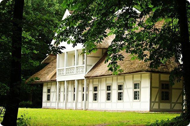 Reedgedecktes Ferienhaus in Boltenhagen