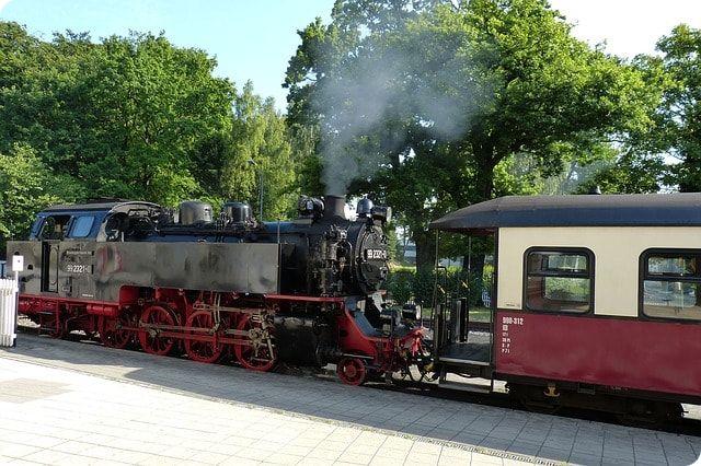 Dampflok mitfahren in Bad Doberan bei Rostock