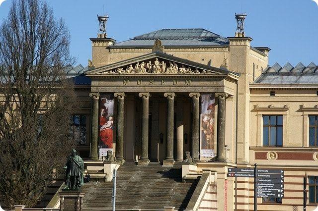 Das staatliche Museum in Schwerin