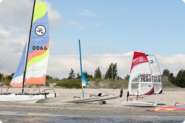 Katamaran - und Surfschule in Rostock
