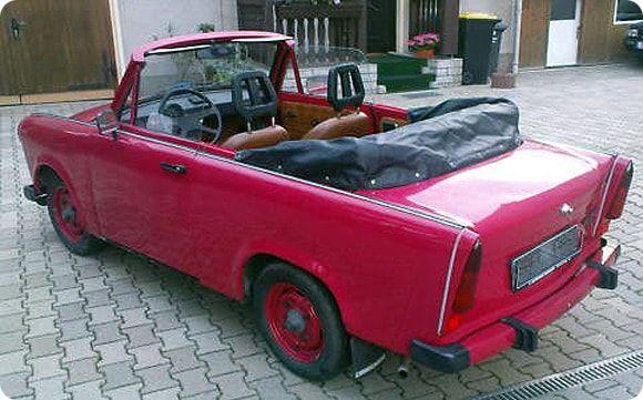 Trabant Cabrio mieten bei Lübeck