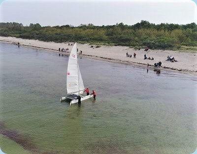 Katamaran Segelausflug Insel Poel