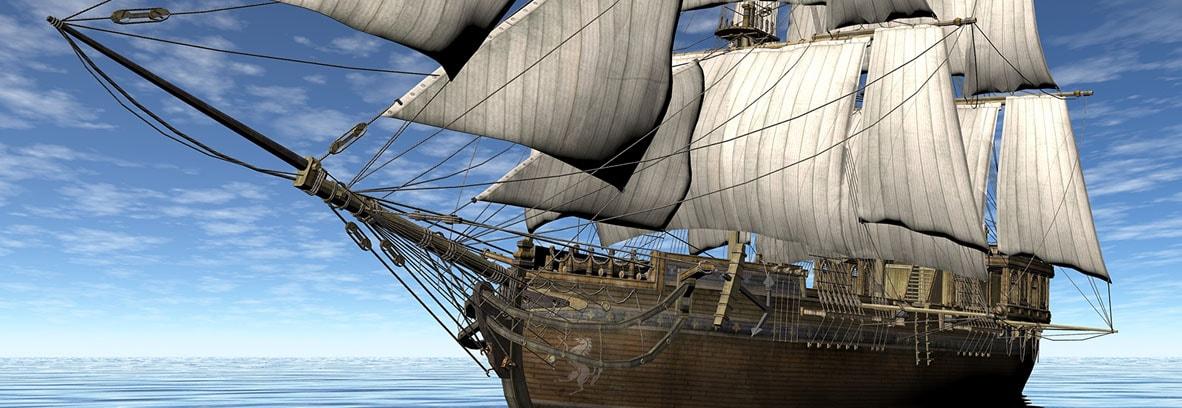 Alte Segelschiffe