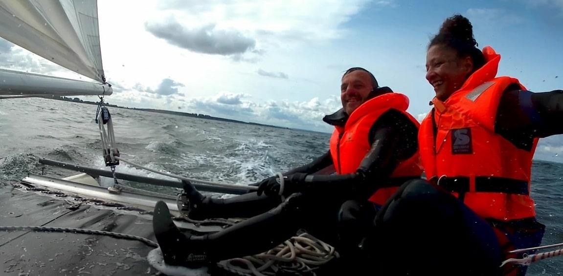 Katamaran segeln macht glücklich