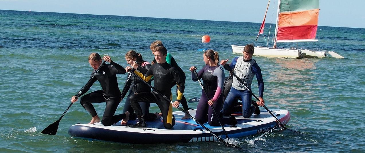Teambuilding Stand Up Paddling auf der Ostsee in MV