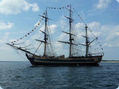 Bark Segelschiff