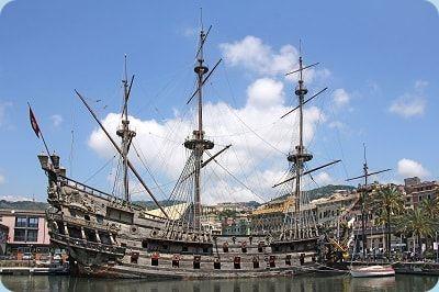 Galeone Segelschiff Kriegsschiff