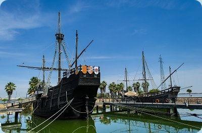Karavellen historische Segelschiffe