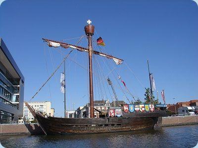 Kogge Segelschiff