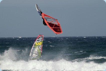 Windsurfen Wassersport Ostsee