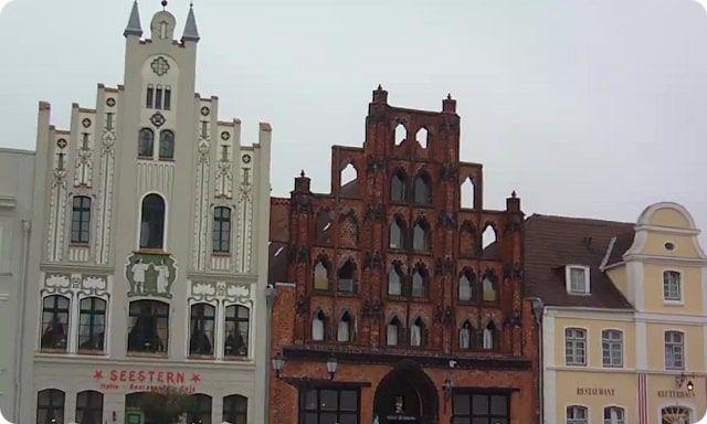 Die Wasserkunst ist eine Sehenswürdigkeit von Wismar und Weltkulturerbe der Unesco.