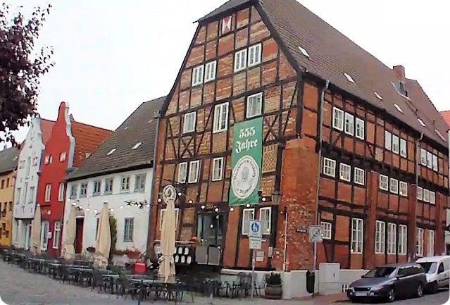Altes Brauhaus Weltkulturerbe Wismar.