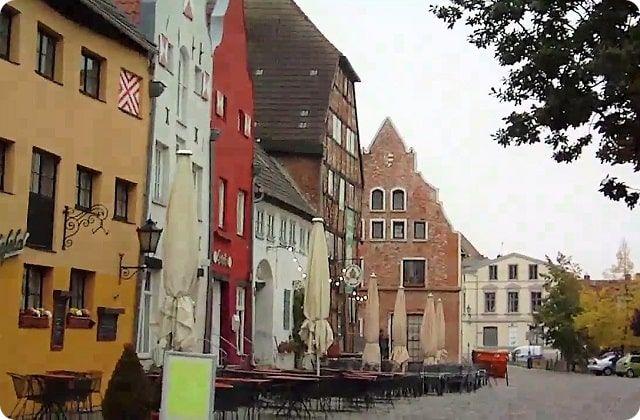 Das alte Hafenviertel von Wismar ist Weltkulturerbe der Unesco.