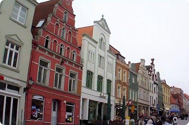 Die historische Altstadt von Wismar ist Weltkulturerbe der Unesco.