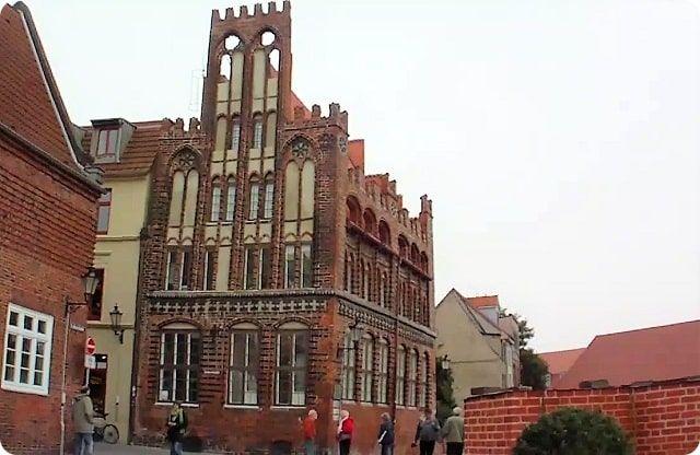 Archidiakonat Wismarer Sehenswürdigkeit und Weltkulturerbe der Unesco.