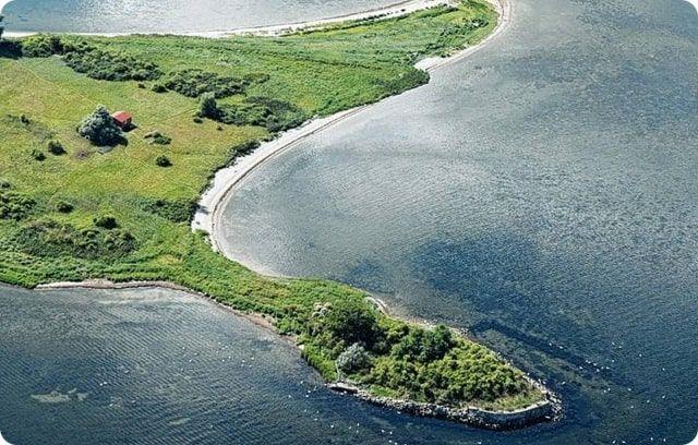 Ausflugsziel, die Vogelschtzinsel Walfisch in der Wismarbucht ist Naturschutzgebiet.