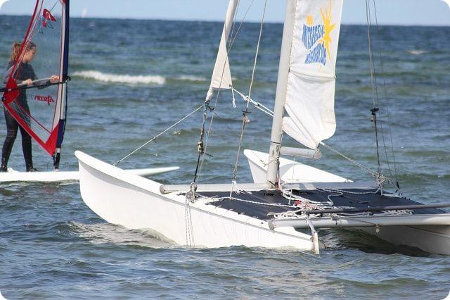 Katamaran segeln Wismar