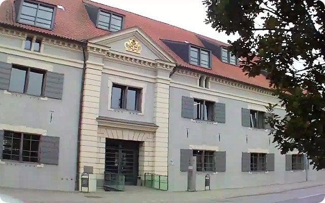 Das Zeughaus ist eine Sehenswürdigkeit von Wismar.